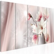 Tableau  Dazzling Magnolias (5 Parts) Narrow