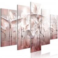 Tableau  Herd of Cranes (5 Parts) Wide