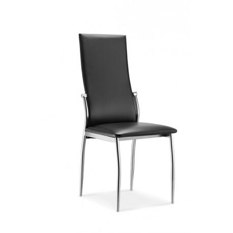 Lot de 4 chaises noires BERLIN