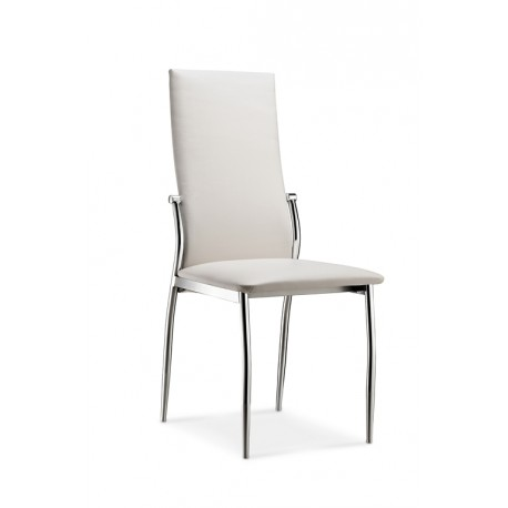Lot de 2 chaises Blanches BERLIN