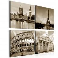 Tableau  European Capitals