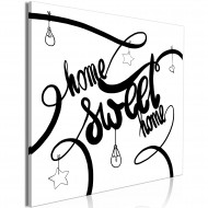 Tableau  Home Sweet Home (1 Part) Square
