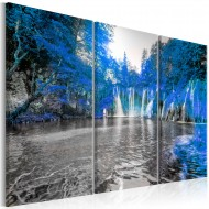 Tableau  Waterfalls os Sapphire Forest