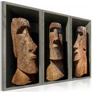 Tableau  Moai (Easter Island)