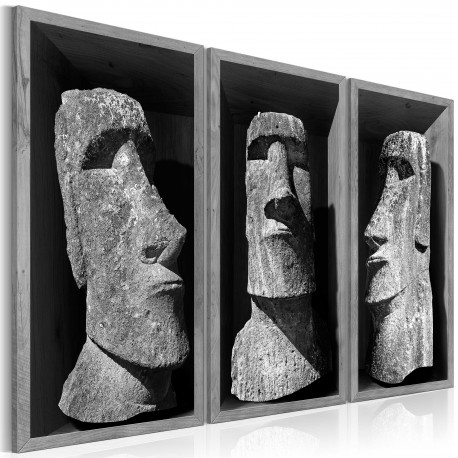 Tableau  The Mystery of Easter Island