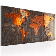 Tableau  World Map Rusty World