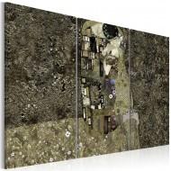 Tableau   Klimt inspiration  Love