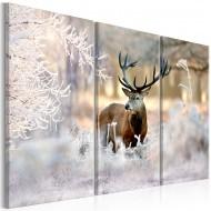 Tableau  Deer in the Cold I