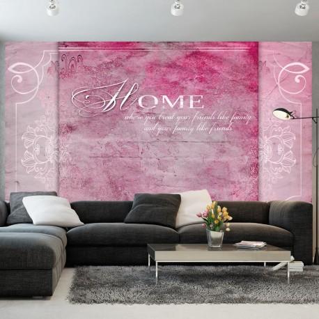 Papier peint  Home, where you treat your friends ...
