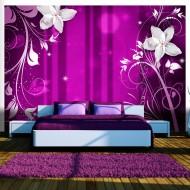Papier peint  Flowering purple