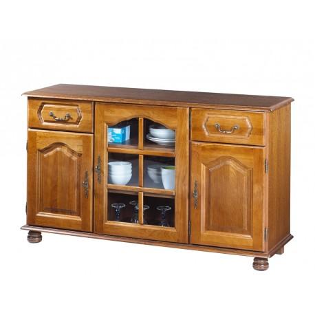Buffet en chêne 3 portes 2 tiroirs 5688AR