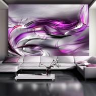 Papier peint  Pink swirls