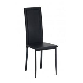 Lot de 2 Chaises Noires NINA