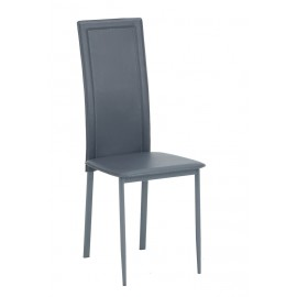Lot de 2 Chaises Grises NINA