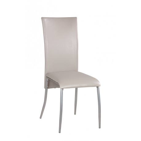 Lot de 4 Chaises Grises BARON