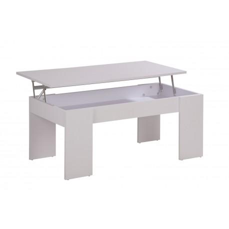 table basse plateau relevable blanche beaux meubles pas chers. Black Bedroom Furniture Sets. Home Design Ideas