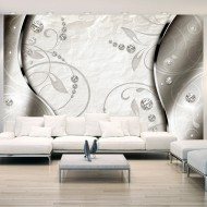 Papier peint  Silver ornament