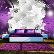 Papier peint  Purple vision