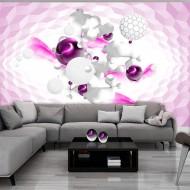Papier peint  Race of Colours  Pink