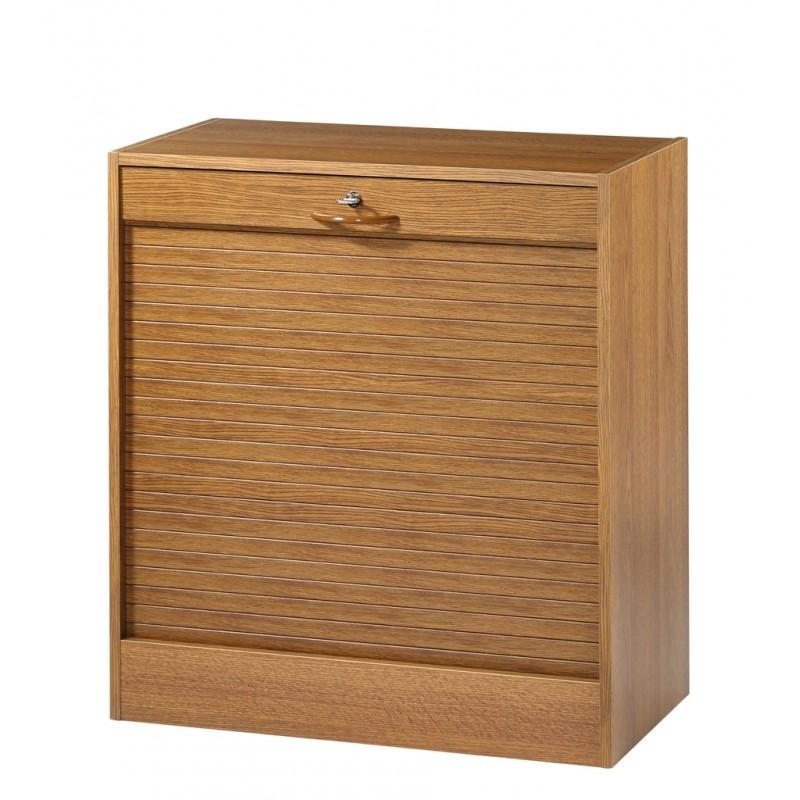 classeur rideau hauteur 76 cm largeur 70 cm ch ne. Black Bedroom Furniture Sets. Home Design Ideas