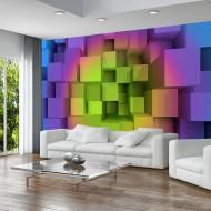 Papier peint  Rainbow puzzle