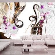 Papier peint  Orchids variations