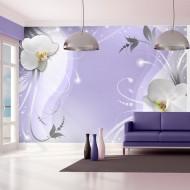 Papier peint  Charming violet