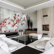Papier peint  Concrete Orchid
