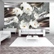 Papier peint  Dance charmed  lilies
