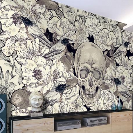 papier peint inspired by art nouveau beaux meubles pas. Black Bedroom Furniture Sets. Home Design Ideas
