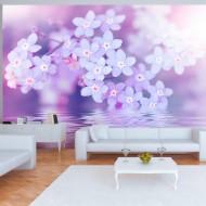 Papier peint  Flowers in Violet
