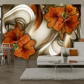 Papier peint - Amaryllis - Butterfly Dance