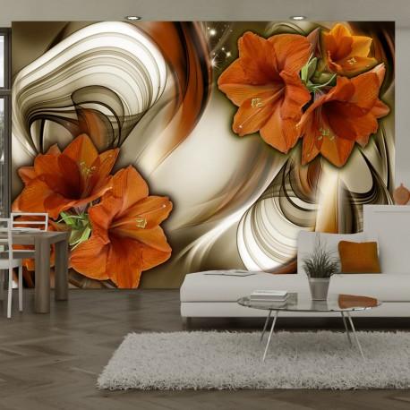 Papier peint  Amaryllis  Butterfly Dance