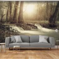 Papier peint  Forest Cascade