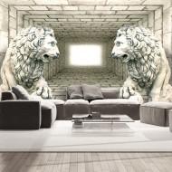 Papier peint  Chamber of lions