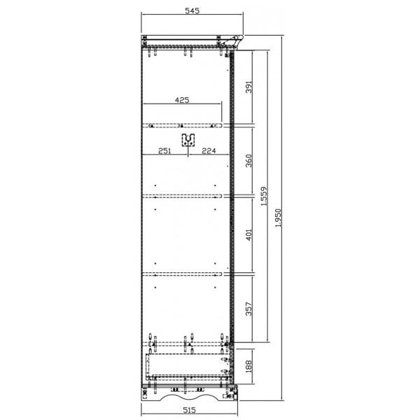 armoire penderie blanche 2 portes de style anglais beaux meubles pas chers. Black Bedroom Furniture Sets. Home Design Ideas