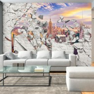 Papier peint  NY  World behind the Wall