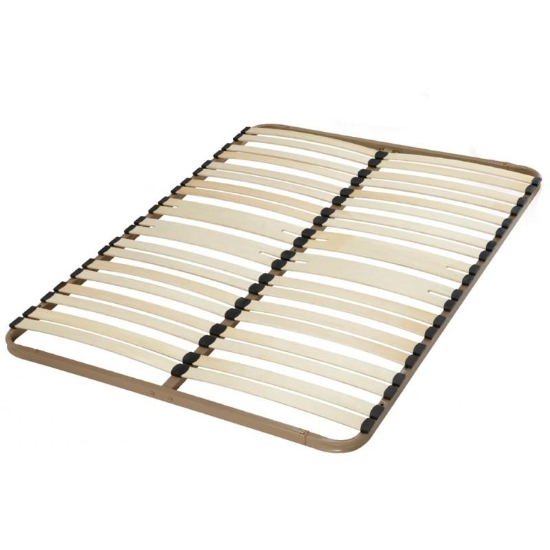 Sommier cadre lattes 140 x 190 ebac beaux meubles pas - Cadre sommier a lattes ...