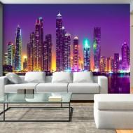 Papier peint  Purple Nights (Dubai)