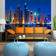Papier peint  Night City (Dubai)