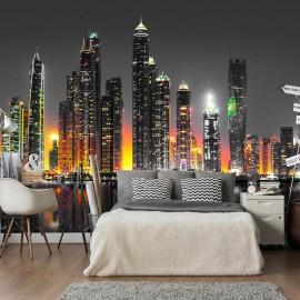 Papier peint - Desert City (Dubai)
