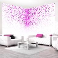 Papier peint  Love corner pink
