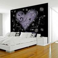 Papier peint  Gray heart