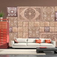 Papier peint  Gingerbread mosaic