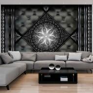 Papier peint  Black ornament