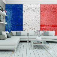 Papier peint  French flag