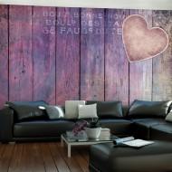 Papier peint  Wood and Rose