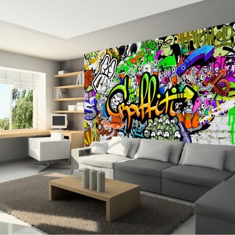 Papier peint  Graffiti on the Wall