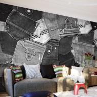 Papier peint  Jeans Stories