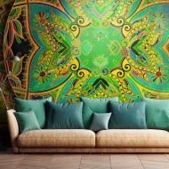 Papier peint  Mandala Emerald Fantasy